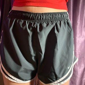 Dark gray nike shorts
